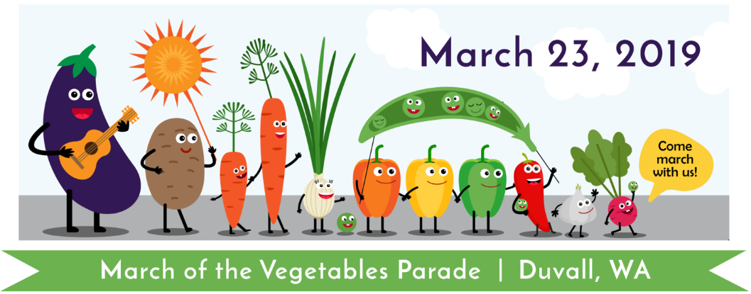 March of the Vegetables!